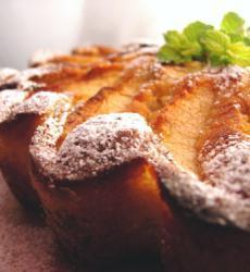Быстрый пирог с яблоками и творогом, пирог с яблоками и творогом, с яблоком и творогом, яблоко, творог